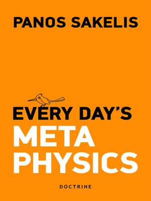 cover image of Every Day's Metaphysics