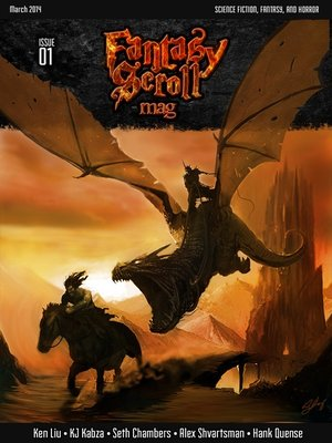 cover image of Fantasy Scroll Magazine Issue #1
