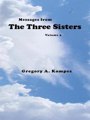 cover image of Messages from the Three Sisters, Volume 2