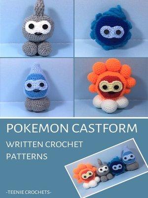 cover image of Pokemon Castform--Written Crochet Patterns (Unofficial)