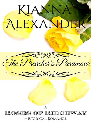 cover image of The Preacher's Paramour