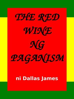 cover image of The Red Wine ng Paganism