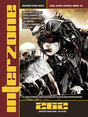 cover image of Interzone #262 (Jan-Feb 2016)