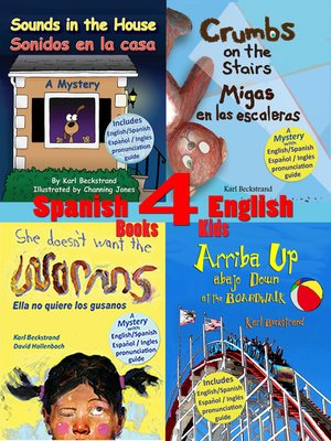 cover image of 4 Spanish-English Books for Kids