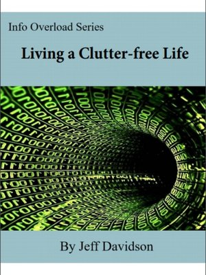 cover image of Living a Clutter-free Life