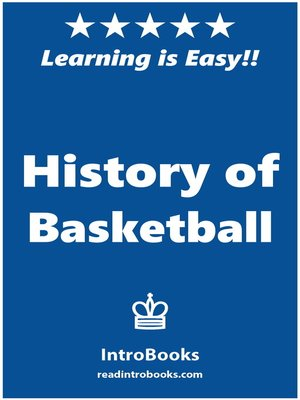 cover image of History of Basketball