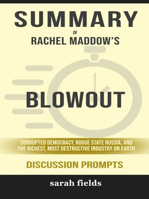cover image of Summary of Blowout