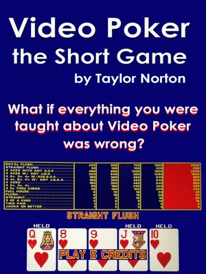 cover image of Video Poker