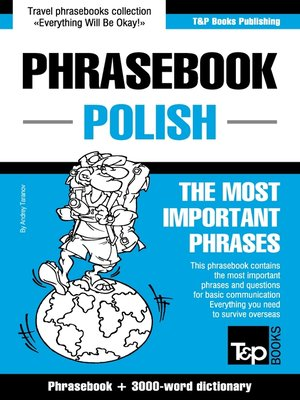 cover image of English-Polish phrasebook and 3000-word topical vocabulary