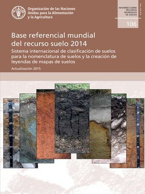 cover image of Base referencial mundial del recurso suelo 2014
