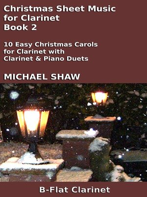 cover image of Christmas Sheet Music for Clarinet