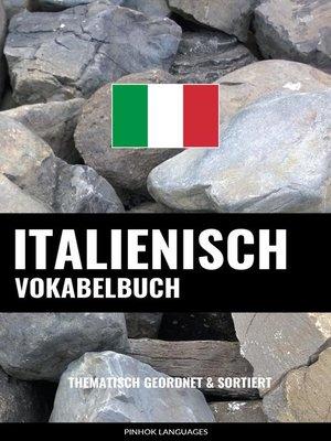 cover image of Italienisch Vokabelbuch