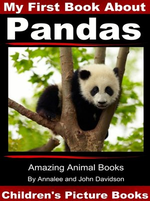 cover image of My First Book about Pandas