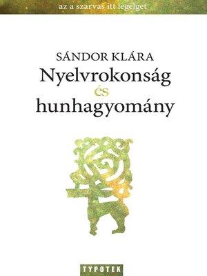 cover image of Nyelvrokonság és hunhagyomány