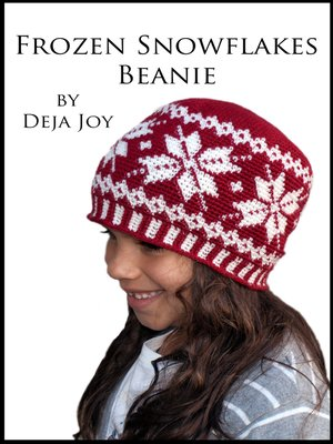 cover image of Frozen Snowflakes Beanie