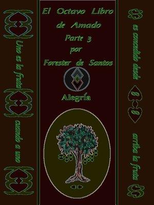 cover image of El Octavo libro de Amado Parte 3