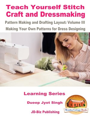 cover image of Teach Yourself Stitch Craft and Dressmaking Pattern Making and Drafting Layout