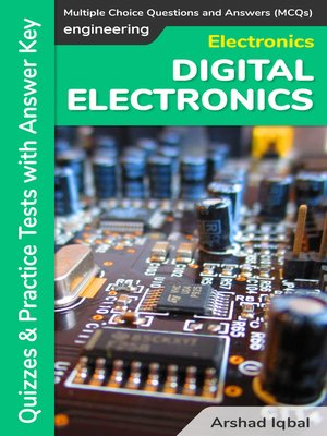 cover image of Digital Electronics Multiple Choice Questions and Answers (MCQs)