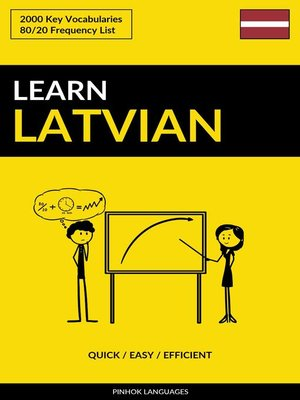 cover image of Learn Latvian