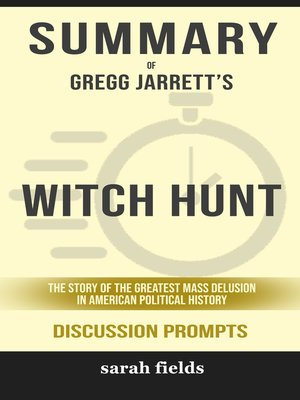 cover image of Summary of Witch Hunt