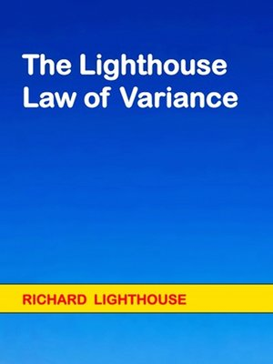 cover image of The Lighthouse Law of Variance