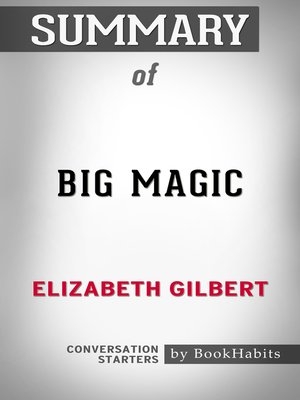 cover image of Summary of Big Magic