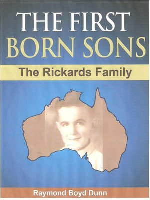 cover image of The First Born Sons