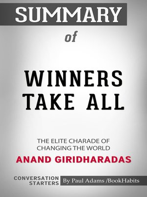 cover image of Summary of Winners Take All