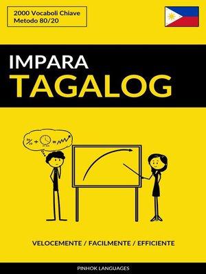 cover image of Impara il Tagalog