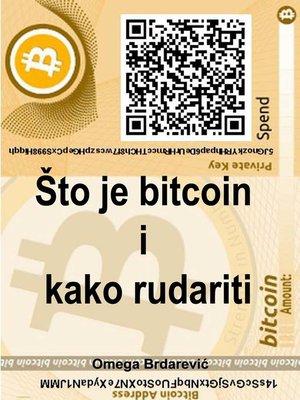 cover image of Što je to bitcoin i kako rudariti