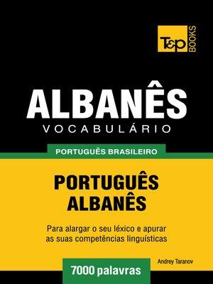 cover image of Vocabulário Português Brasileiro-Albanês