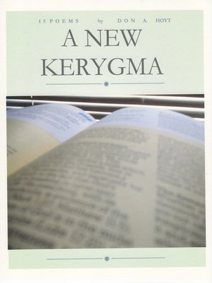 the unifying kerygma of the new Eugene e lemcio is emeritus professor of new testament at seattle pacific university, where he taught for thirty-six years his writings about canonical hermeneutics, the gospels, the son of man, and the unifying kerygma of the new testament have appeared in leading academic publications.