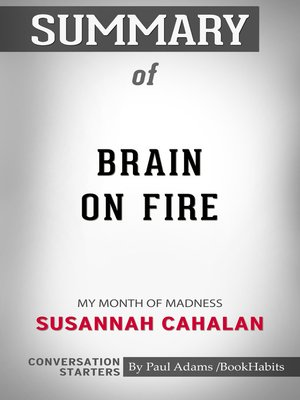 cover image of Summary of Brain on Fire