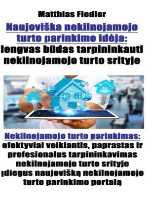 cover image of Naujoviška nekilnojamojo turto parinkimo idėja