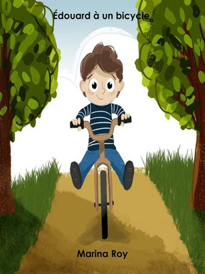 cover image of Édouard à un bicycle