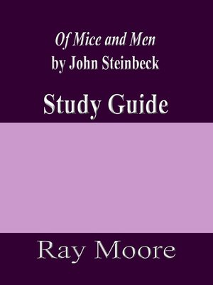 cover image of Of Mice and Men by John Steinbeck