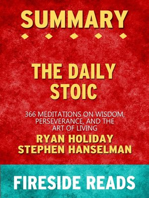 cover image of Summary of the Daily Stoic
