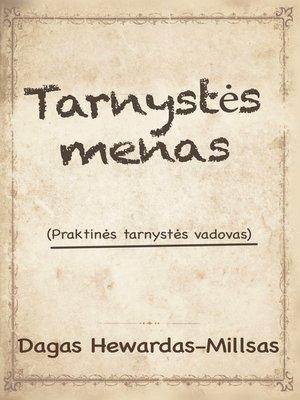 cover image of Tarnystės menas