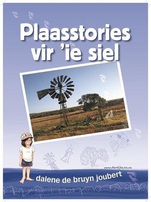 cover image of Plaasstories vir 'ie siel