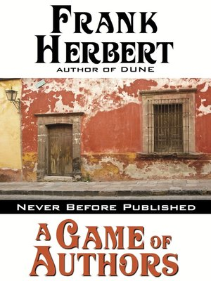 cover image of A Game of Authors