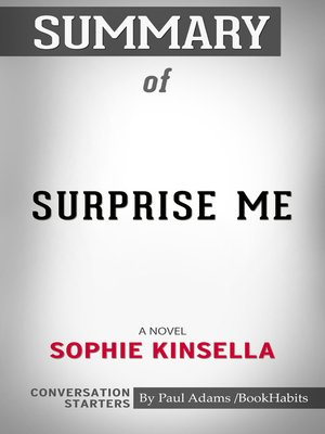 cover image of Summary of Surprise Me