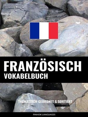 cover image of Französisch Vokabelbuch