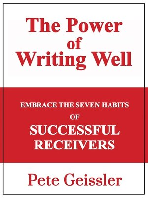 cover image of Embrace the Seven Habits of Successful Recievers