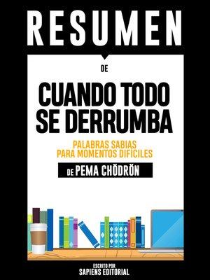cover image of Cuando Todo Se Derrumba