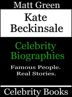 cover image of Kate Beckinsale