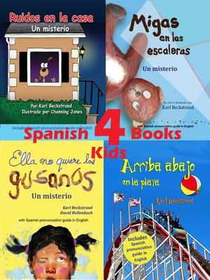 cover image of 4 Spanish Books for Kids--4 libros para niños (with pronunciation guide in English)