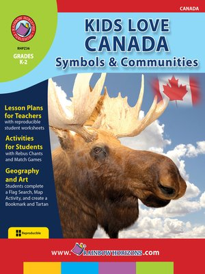 cover image of Kids Love Canada: Symbols & Communities
