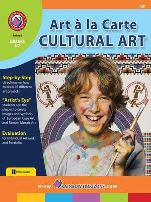 cover image of Art a La Carte: Cultural Art
