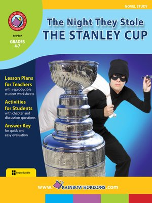cover image of The Night They Stole the Stanley Cup