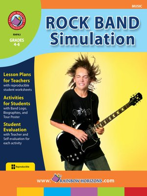 cover image of Rock Band Simulation